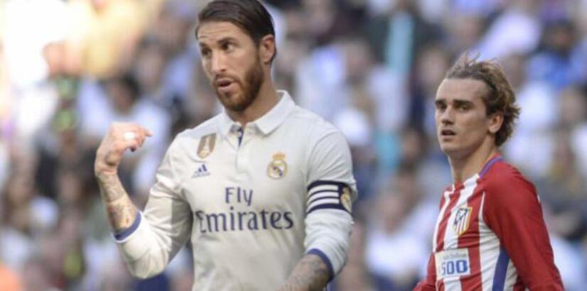 Ramos'tan Griezmann'a salvo!