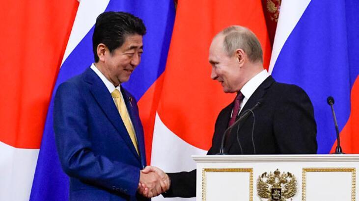 Japonya Başbakanı Abe'den Rusya ile barış sözü