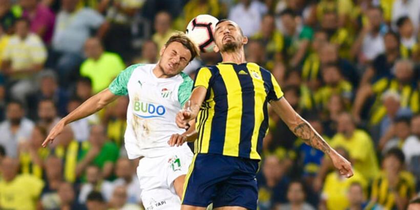 Bursaspor evinde F.Bahçe'yi 10 maçtır yenemiyor