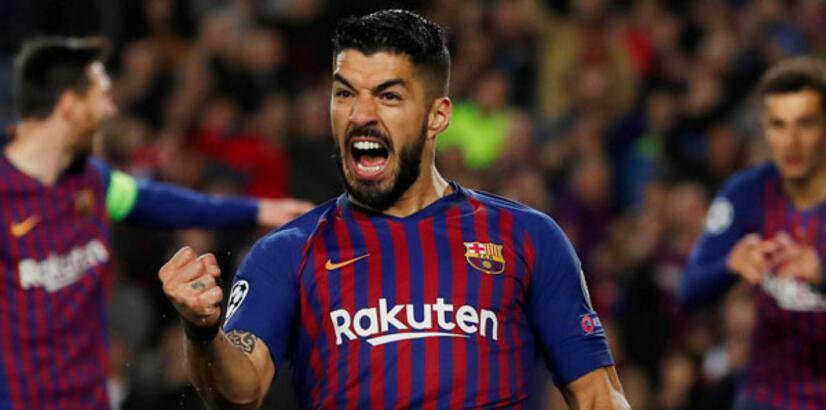 Barcelona'da Suarez 2 hafta forma giyemeyecek
