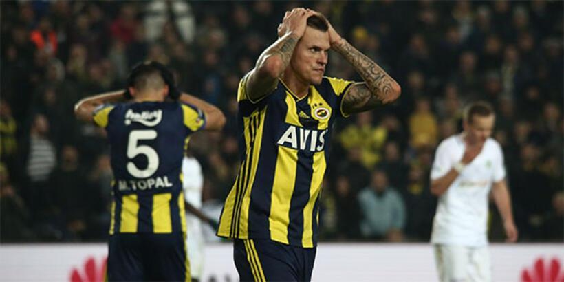Fenerbahçe'de son 28 yılın en kötü iç saha performansı