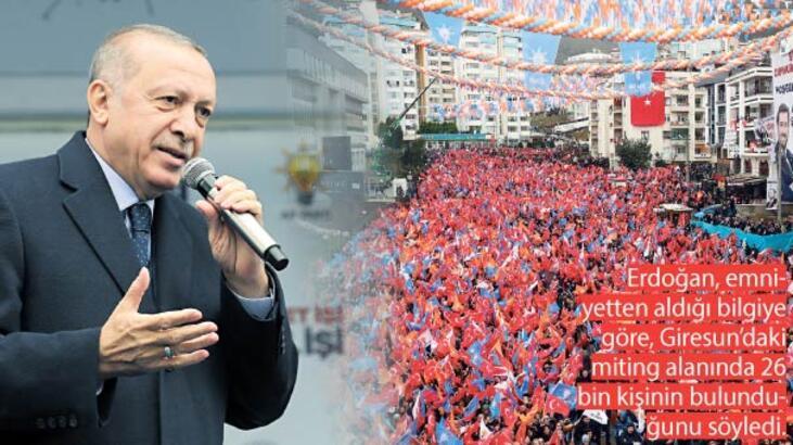 Cumhurbaşkanı Erdoğan: 'Türkiye'yi terk et Irak'a git'