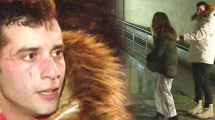 Sevgilisiyle sokak ortasında kavga etmişti! Açıklama geldi