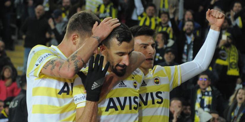 Fenerbahçe-EY Malatyaspor: 3-2 (İşte maçın özeti)