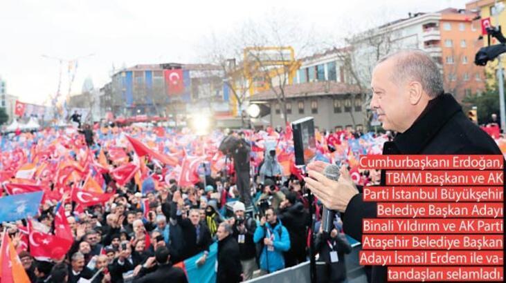 Erdoğan Ataşehirlilere seslendi: 30 yıllık beklenti sona eriyor