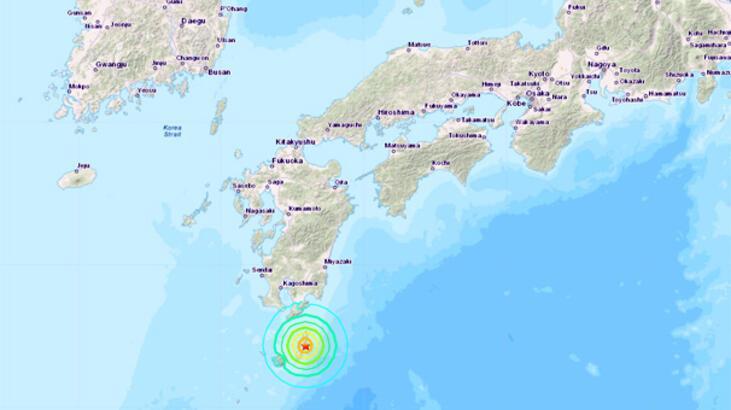 Son dakika... Japonya açıklarında 6.3 büyüklüğünde deprem