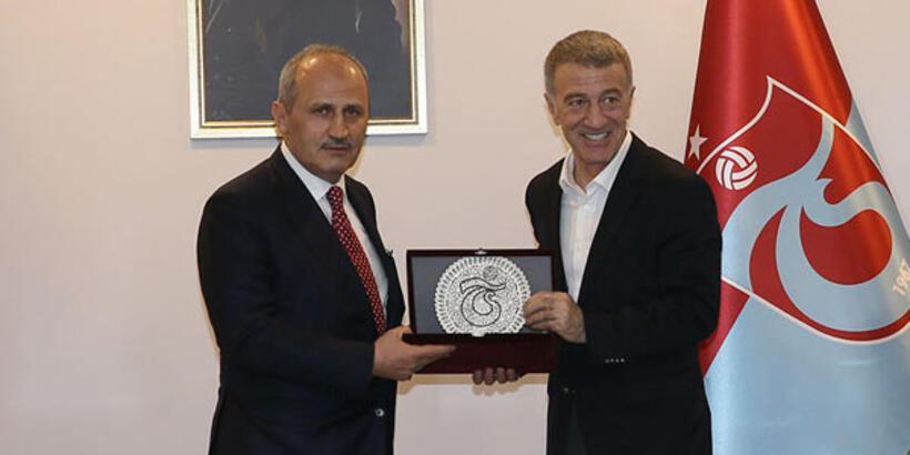 Bakan Cahit Turhan, Trabzonspor'u ziyaret etti - Trabzonspor ...