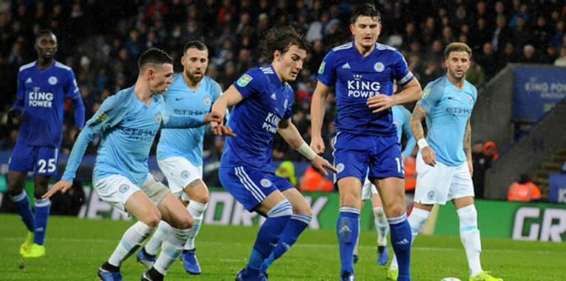 Çağlar Söyüncü penaltı kaçırdı, Manchester City yarı finale kaldı!