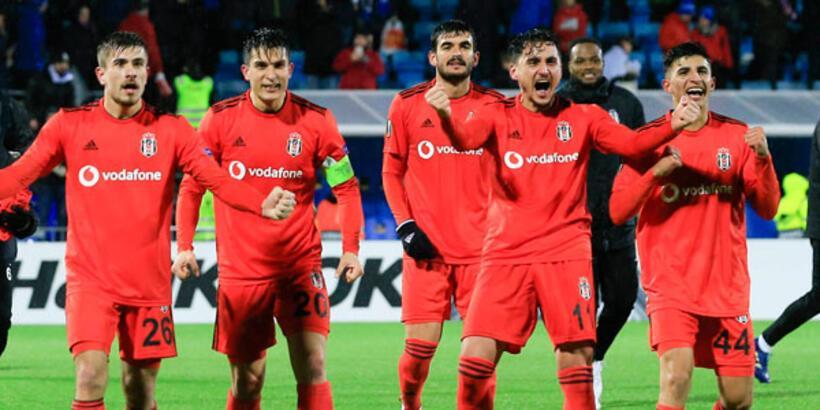 Beşiktaş Norveç'te zoru başardı