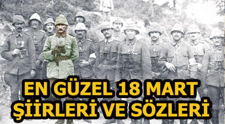 En güzel Çanakkale Zaferi şiirleri ve sözleri - 18 Mart Çanakkale Zaferi ve Şehitleri Anma Günü