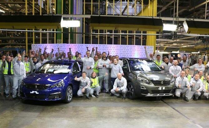 """""""Peugeot 308""""in 1 milyonuncu üretimi kutlandı"""