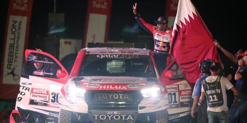 Dakar'da ilk etap El-Attiyah'ın!