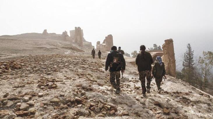 PKK'lılar Süleyman Şah'ın eski istirahatgahını terör kampına çevirdi