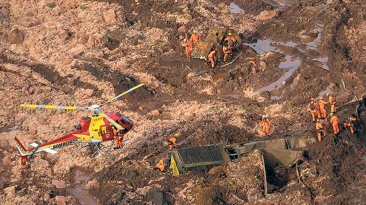 Maden atık barajı çöktü 300'den fazla kişi kayıp