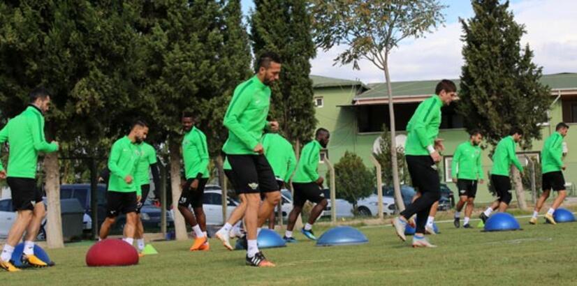 Akhisarspor'da Aytemiz Alanyaspor maçı hazırlıkları