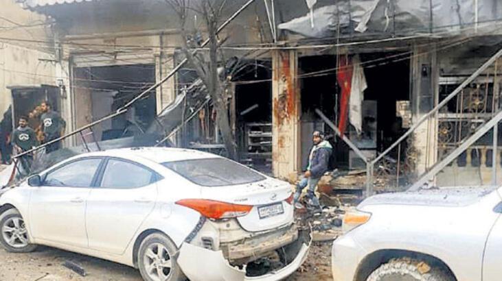 Menbiç'te canlı bombalı saldırı