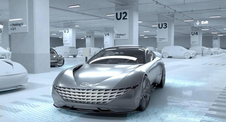 Hyundai'den şarj istasyonunu kendi bulan akıllı otomobil: Le Fil Rouge