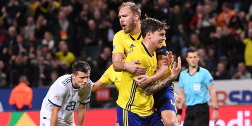 İsveç - Rusya: 2-0