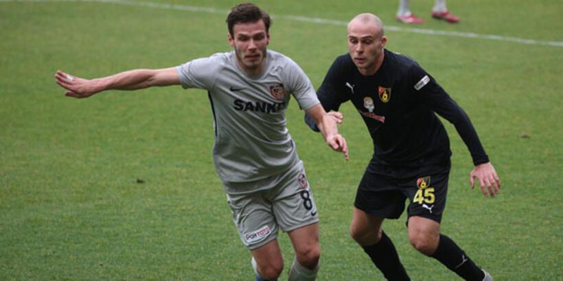 İstanbulspor - Gazişehir Gaziantep: 2-2