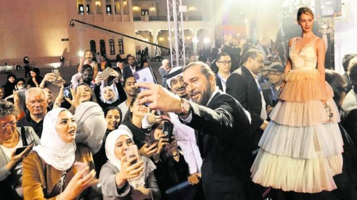 Katar'da yoğun ilgi