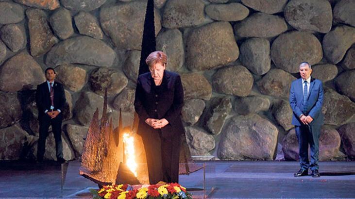 Merkel: İran konusunda İsrail'le hemfikiriz