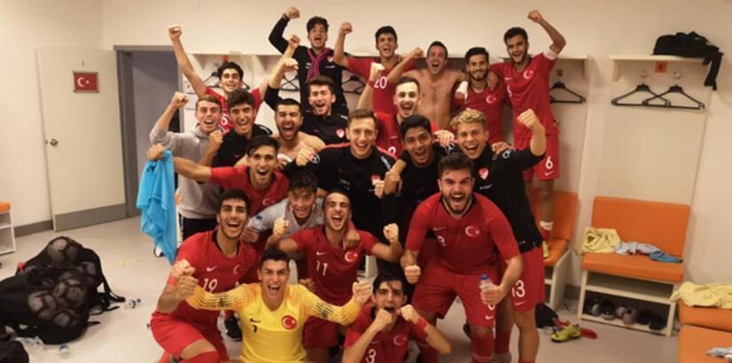 19 Yaş Altı Milli Futbol Takımı, Elit Tur'da!