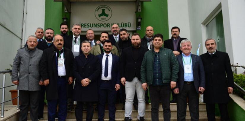 Giresunspor'un yeni başkanı Sacit Ali Eren oldu