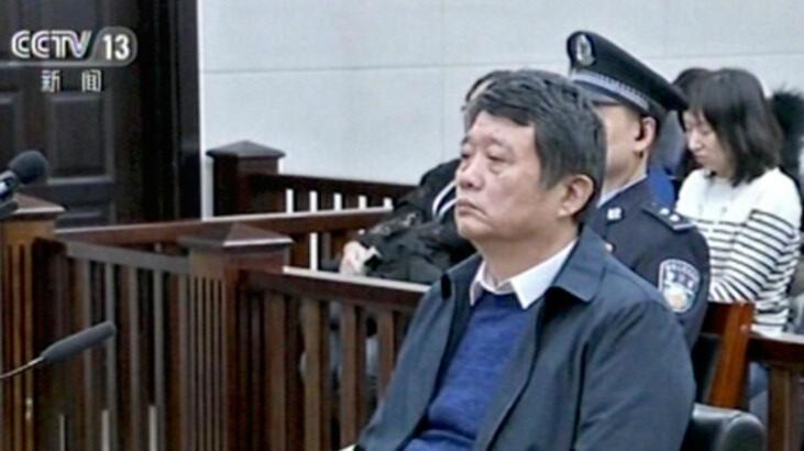 Çin'de istihbarat şefine ömür boyu hapis