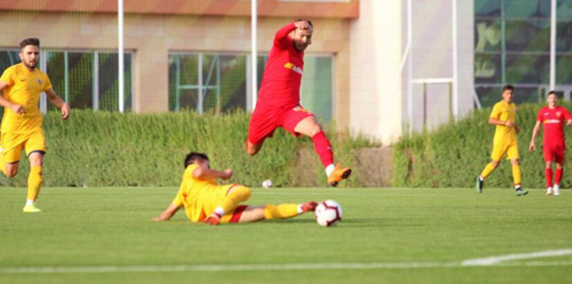Kayserispor, A2 Takımı'na fark attı: 4-0