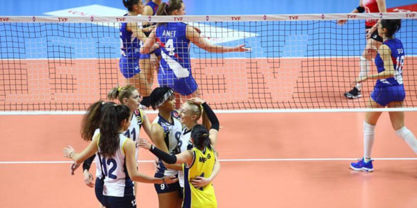 THY: 0 -  Fenerbahçe Opet: 3