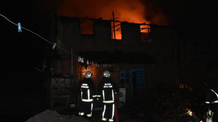 Çok acı olay! Yatalak ev sahibi yangında hayatını kaybetti