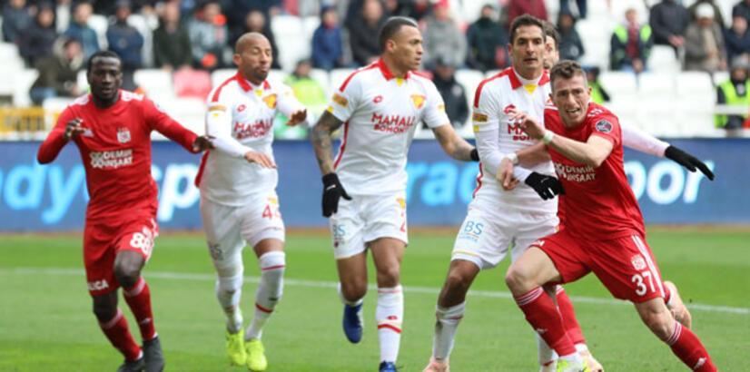 DG Sivasspor - Göztepe: 2-0