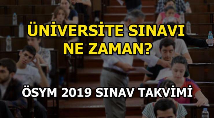 YKS ne zaman yapılacak? ÖSYM 2019 sınav takvimini yayınladı