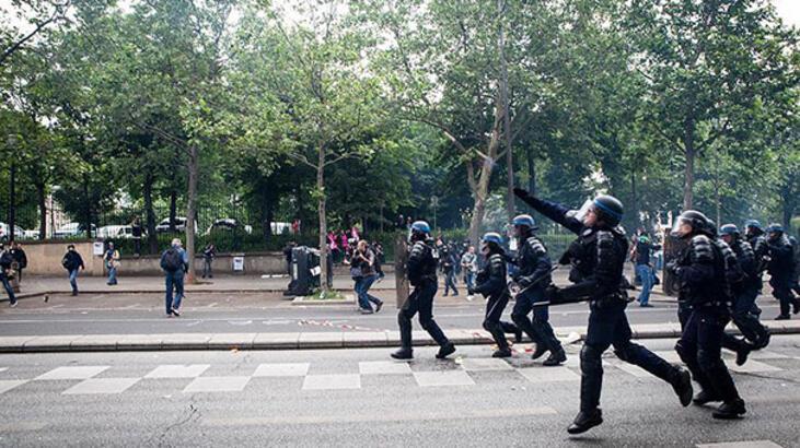 Fransa'da sarı yeleklilerin gösterisi öncesi 278 gözaltı