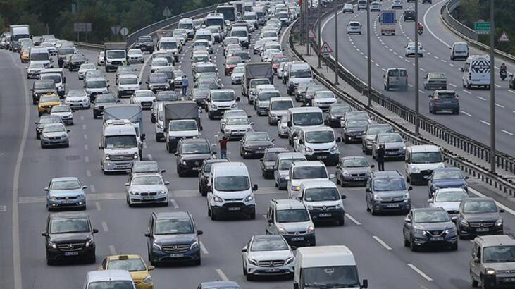 Trafiğe kaydı yapılan taşıt sayısı azaldı