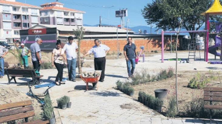 'Park ve yeşil alanlar çehresini değiştirdi'