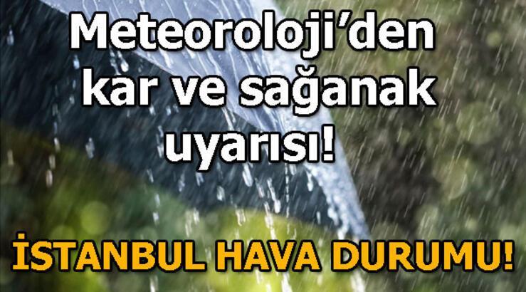 Meteorolojiden son dakika uyarısı! İstanbul hava durumu bugün nasıl?