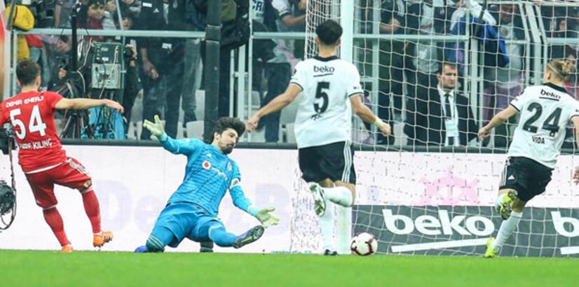 Beşiktaş - Demir Grup Sivasspor: 1-2