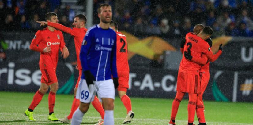 Sarpsborg 08 - Beşiktaş: 2-3 (İşte maçın özeti)