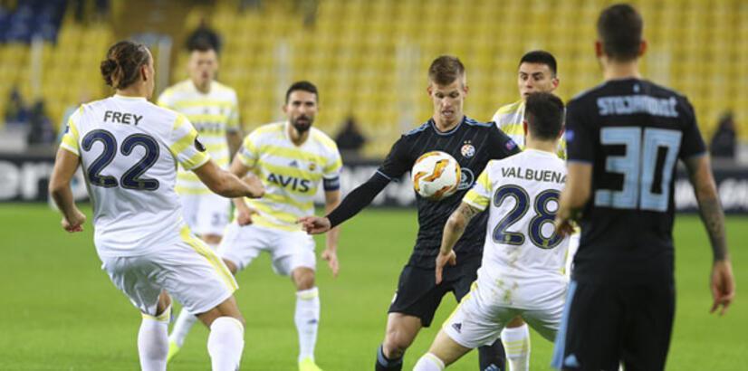 Fenerbahçe - Dinamo Zagreb: 0-0