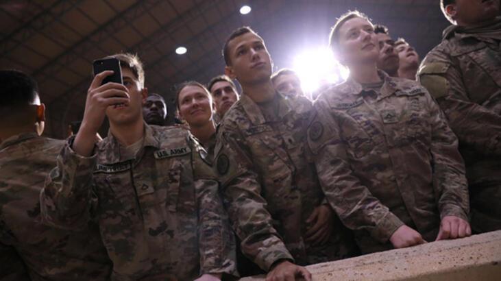 ABD askerlerinin Bağdat'taki çarşı gezisi, Irak'ı karıştırdı