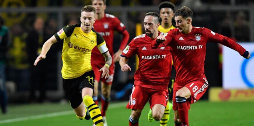 Dortmund, Bayern Münih'i yıktı! 5 gollü maç...