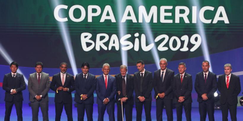 Copa America'da gruplar belli oldu