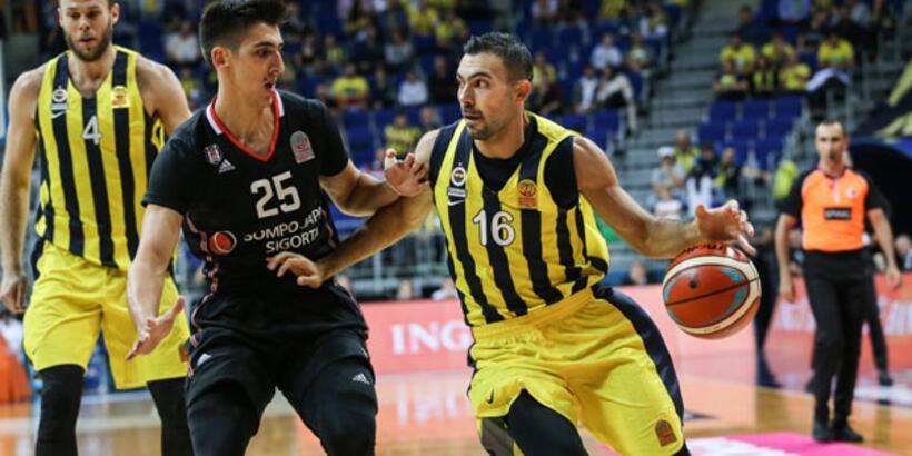 Potada Beşiktaş Sompo Japan - Fenerbahçe Beko derbisi