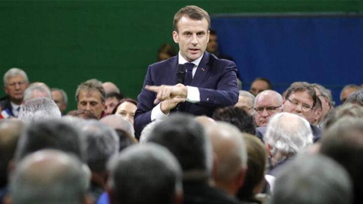 Macron ilan etti! Ülke genelinde başladı...