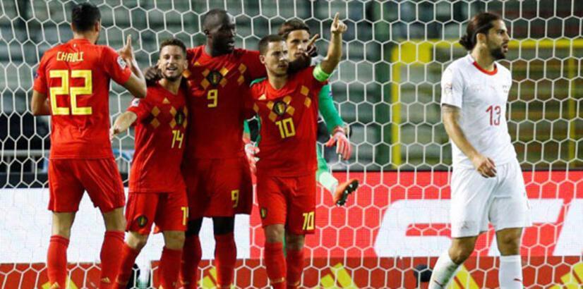 Belçika-İsviçre: 2-1