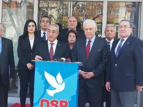 Celal Doğan, DSP Gaziantep Büyükşehir Belediye Başkan adayı oldu!