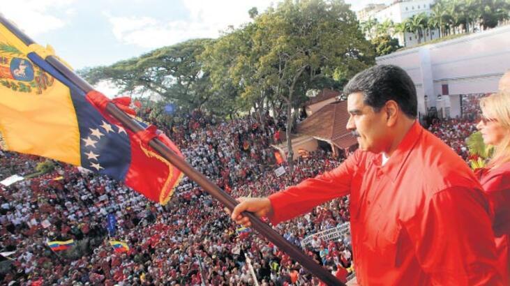 Dünya Venezuela'ya kilitlendi