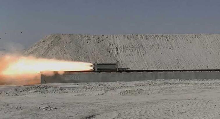 Türkiye'nin ilk ve tek süpersonik raylı test hattı açıldı