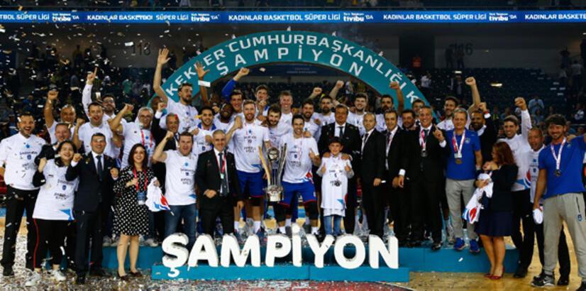 34. Erkekler Cumhurbaşkanlığı Kupası Anadolu Efes'in!